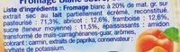 Calin Fruits du Verger - Ingredienti - fr