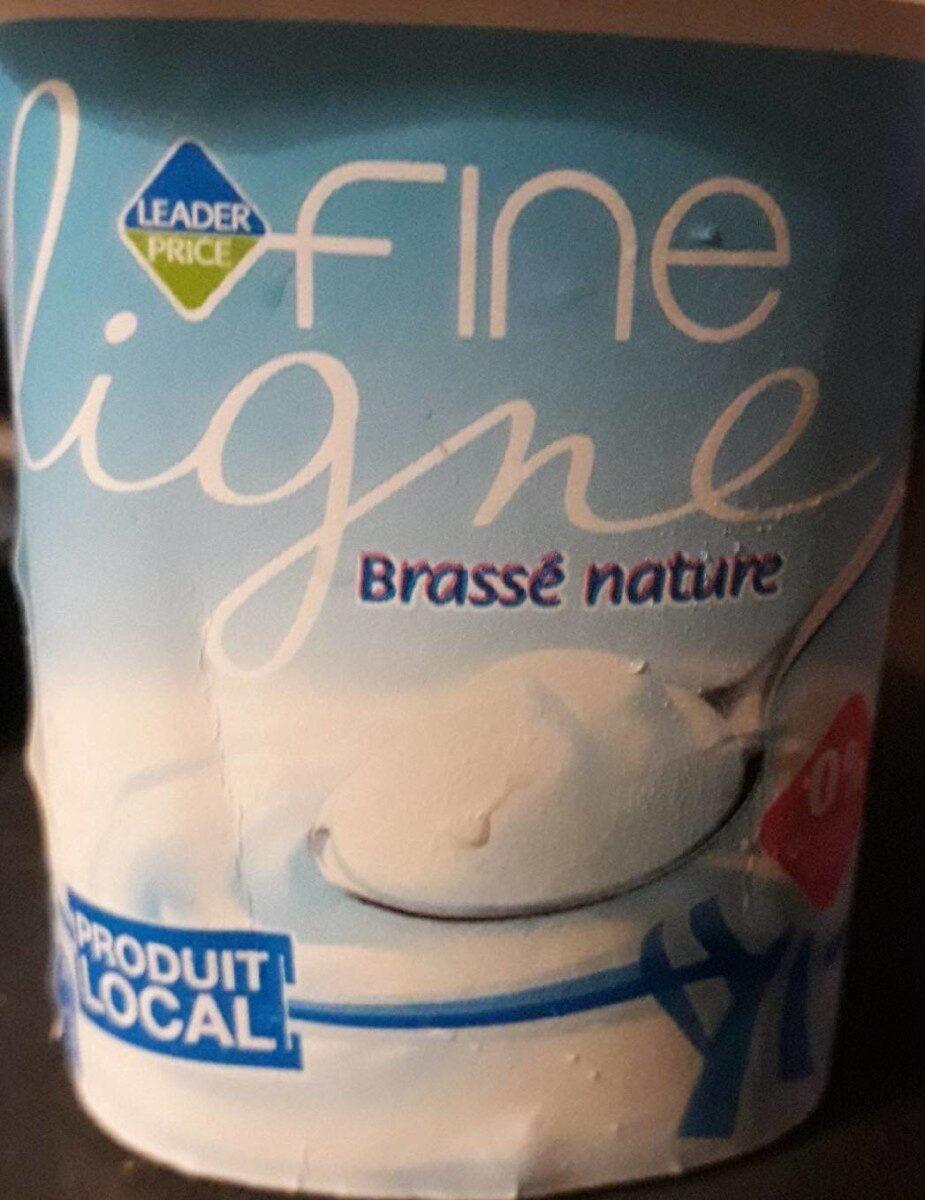 Brassé nature Fine Ligne - Produit - fr