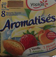 Yaourts Sucrés Aromatisés - Produit - fr