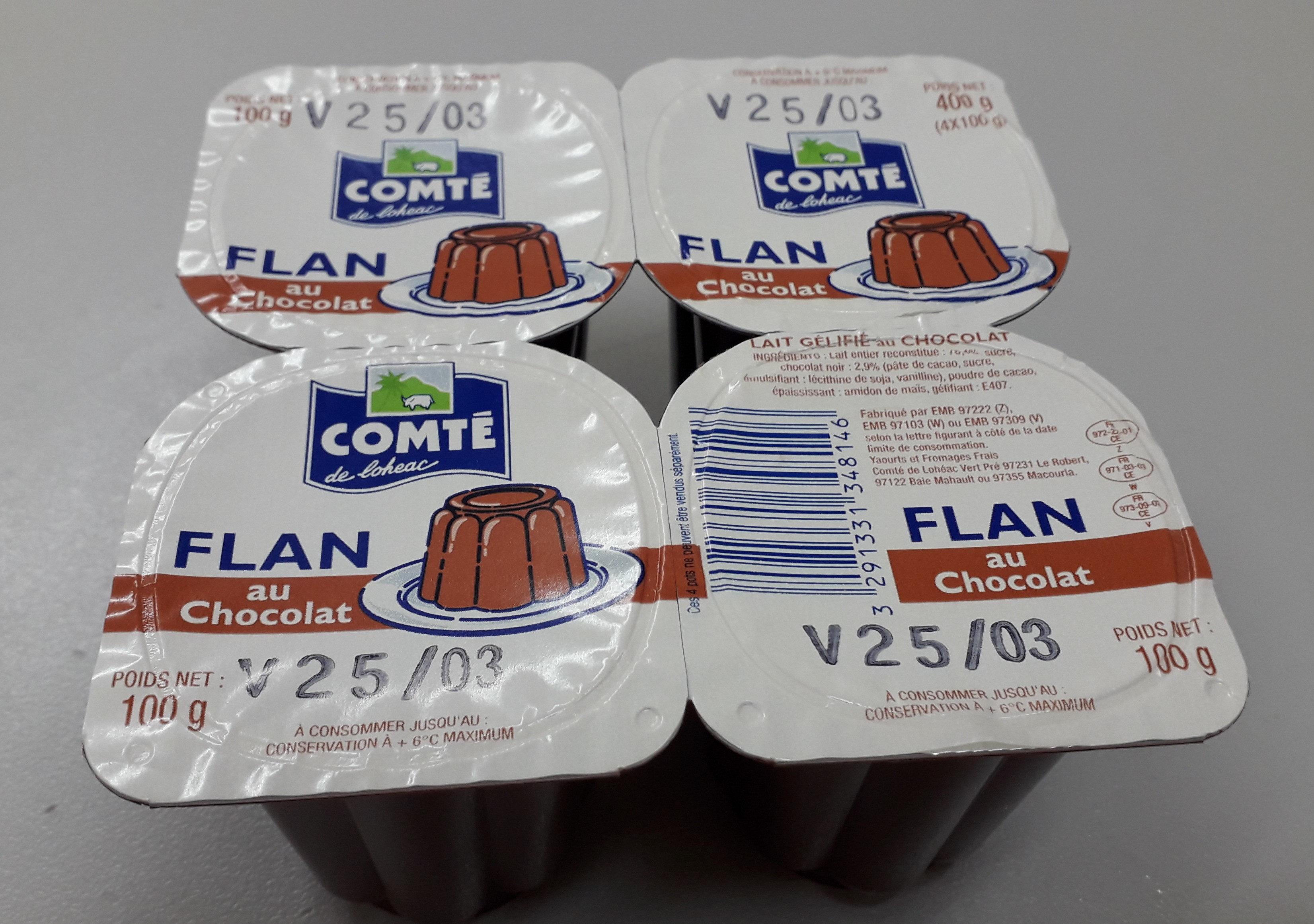 comté flan chocolat - Prodotto - fr