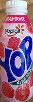 Yaourt à voire pulpe de framboise Yop - Product - fr