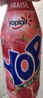 Yoaurt à boire pulpe fraise Yop Fraise - Produit - fr