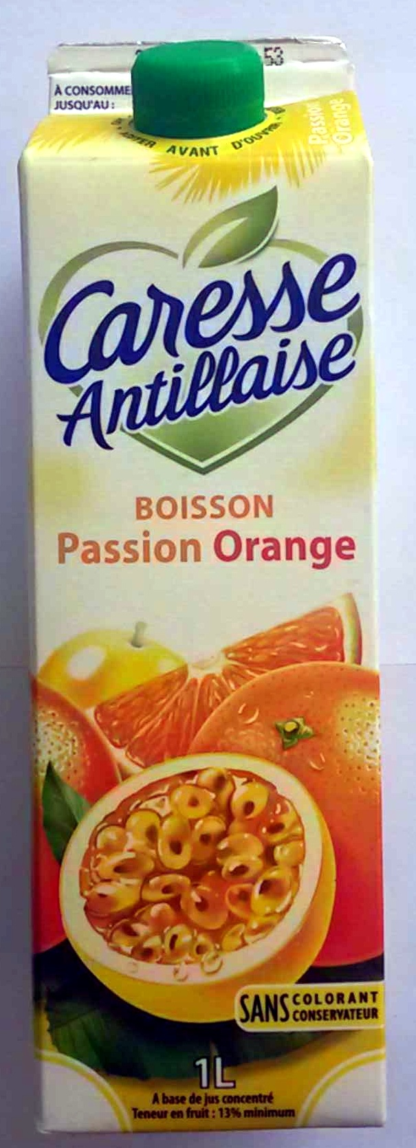 Boisson Passion Orange - Produit
