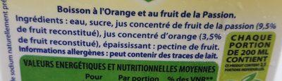 boisson Orange passion - 3