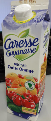 Nectar de fruits cerise orange - Product