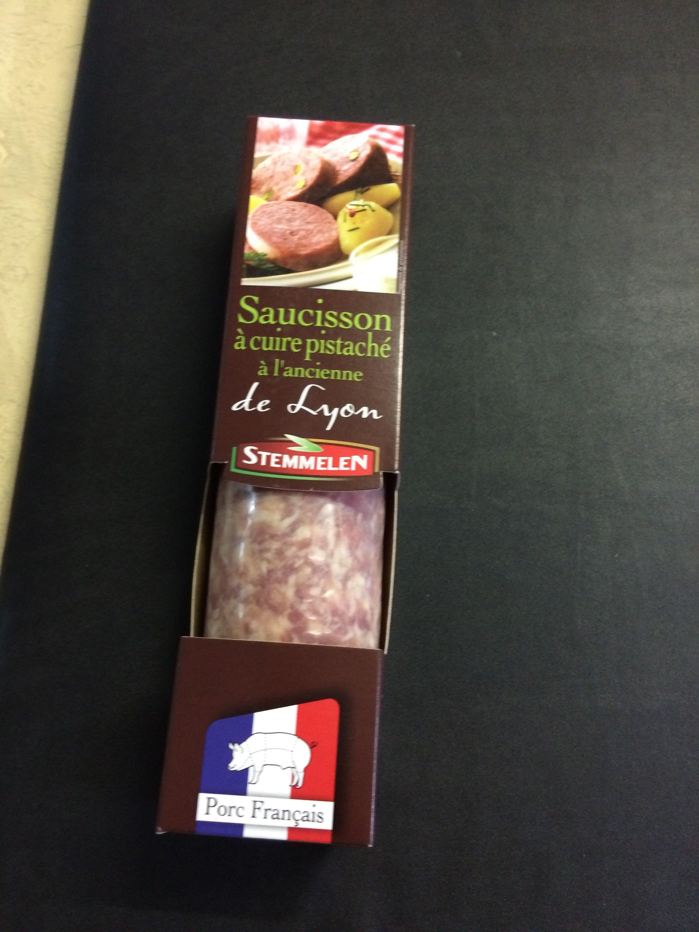 Saucisson à cuire pistaché à l'ancienne de Lyon - Produit