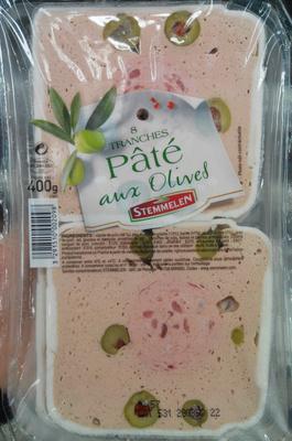 Pâté aux Olives - Produit