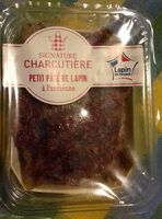 Petit pâté de lapin à l'ancienne - Produit - fr