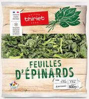 Feuilles d'épinards - Prodotto - fr