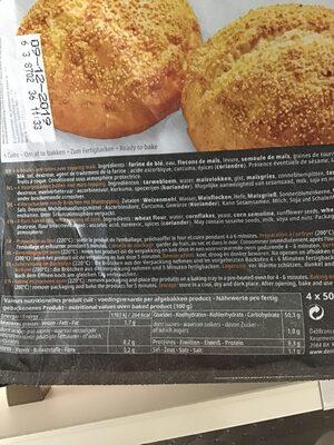 Boules maïs - Informations nutritionnelles - nl