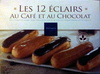 Les 12 éclairs au café et au chocolat - Produit