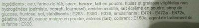 Millefeuilles - Ingrédients - fr