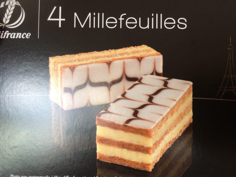 4 Millefeuilles - Produit - fr