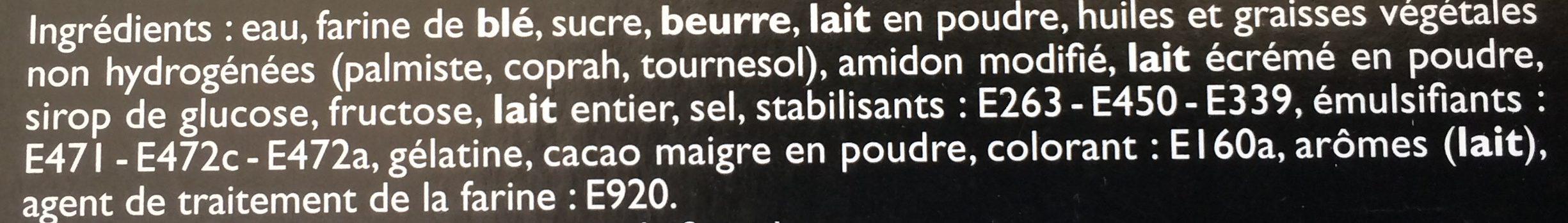 4 Millefeuilles - Ingrédients - fr