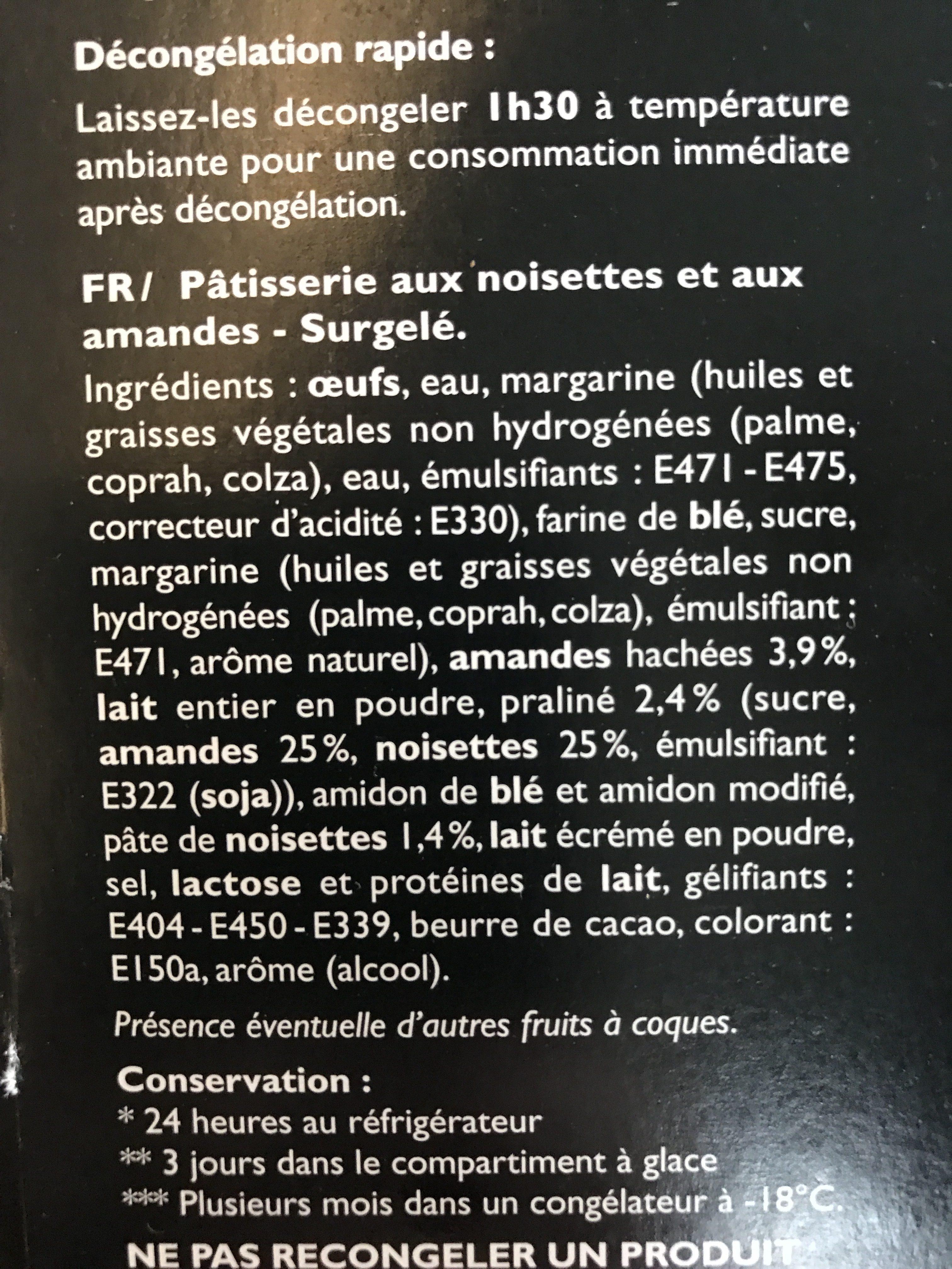 12 Paris-Brest - Ingredients
