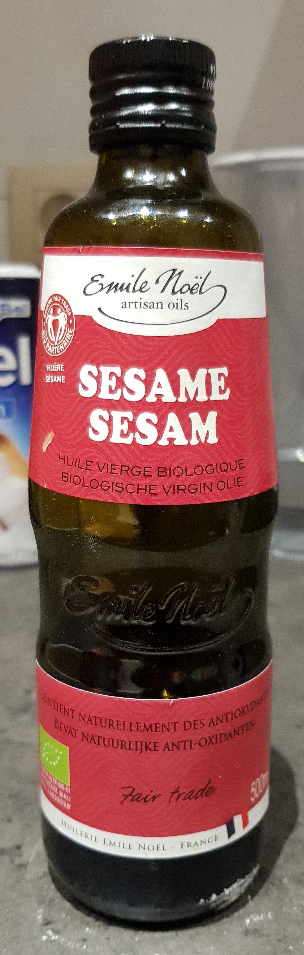 Huile vierge biologique de sésame - Produit - fr