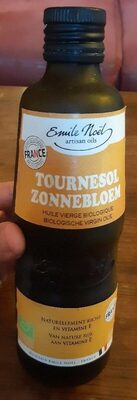Tournesol, huile vierge biologique - Produit - fr