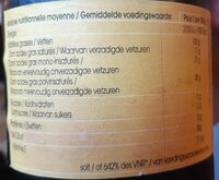 Tournesol, huile vierge biologique - Informations nutritionnelles - fr