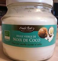 Huile vierge de noix de coco bio - Produit - fr