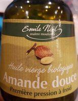 Huile Vierge D'amande Douce - Ingredients