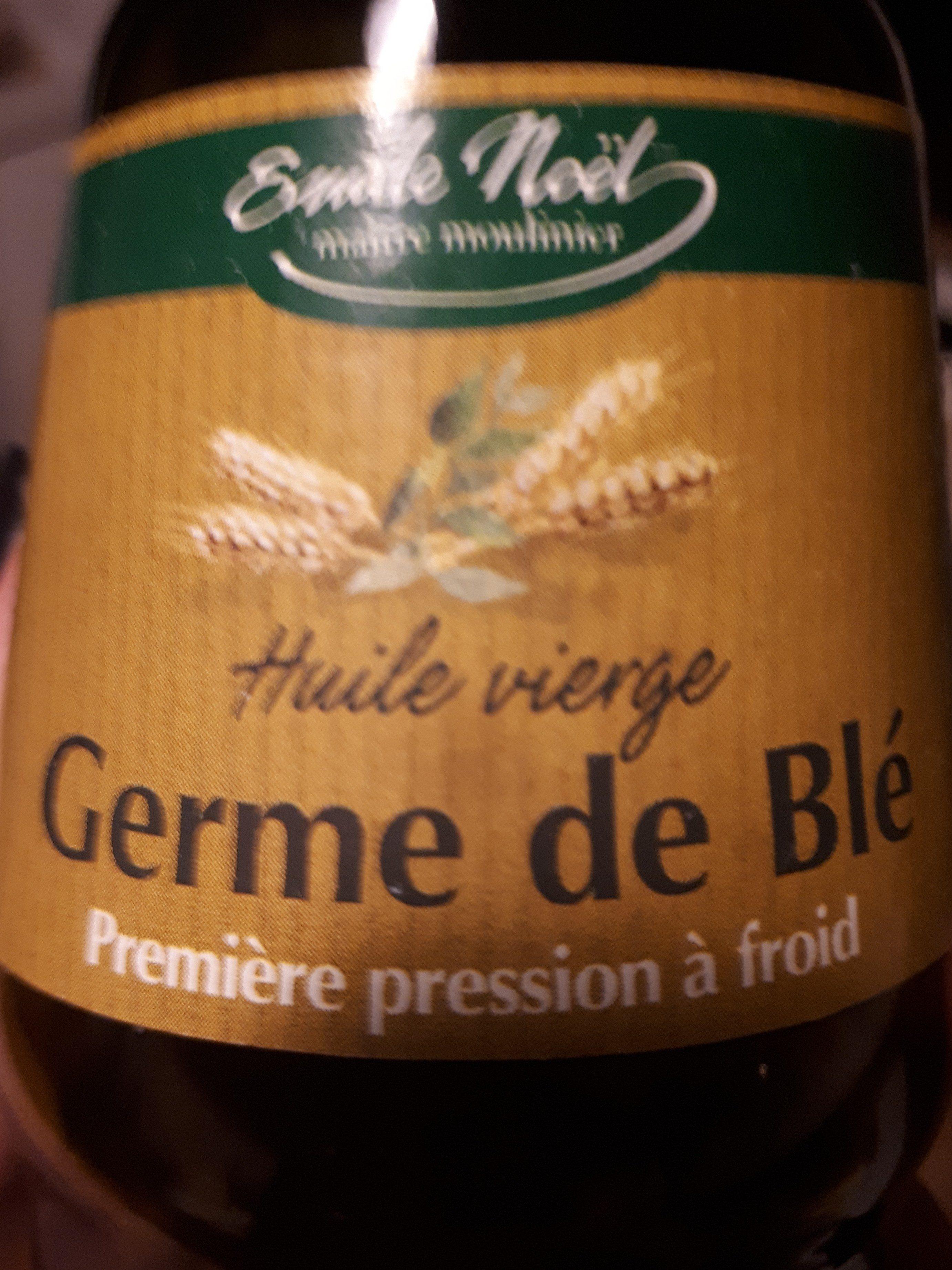 HUILE GERME DE BLE - Ingrédients - fr