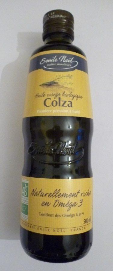 Huiles vierge biologique de Colza - première pression à froid - Produit