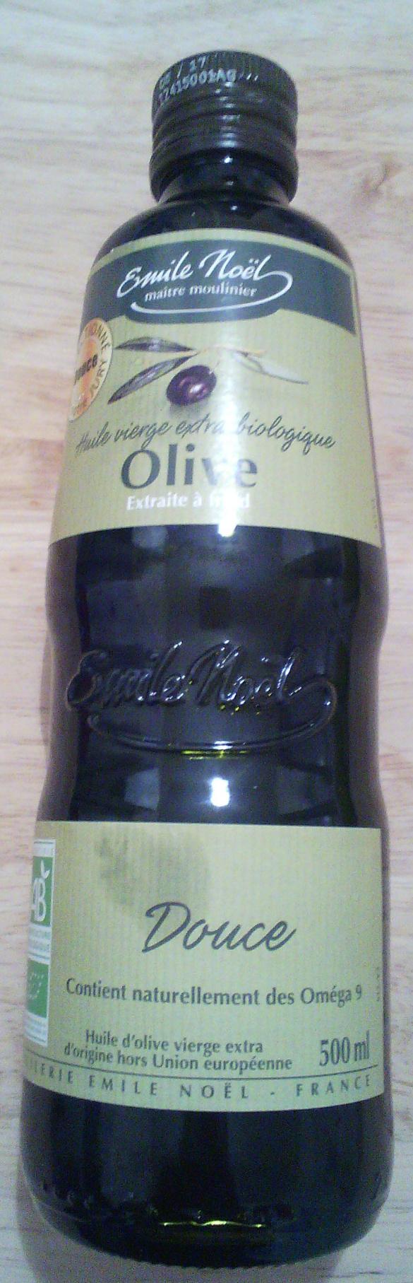 Huile d'olive vierge extra biologique - Produit - fr