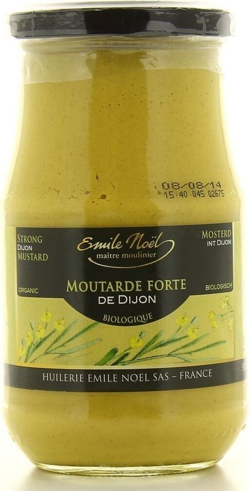 Moutarde de Dijon forte - Produit - fr