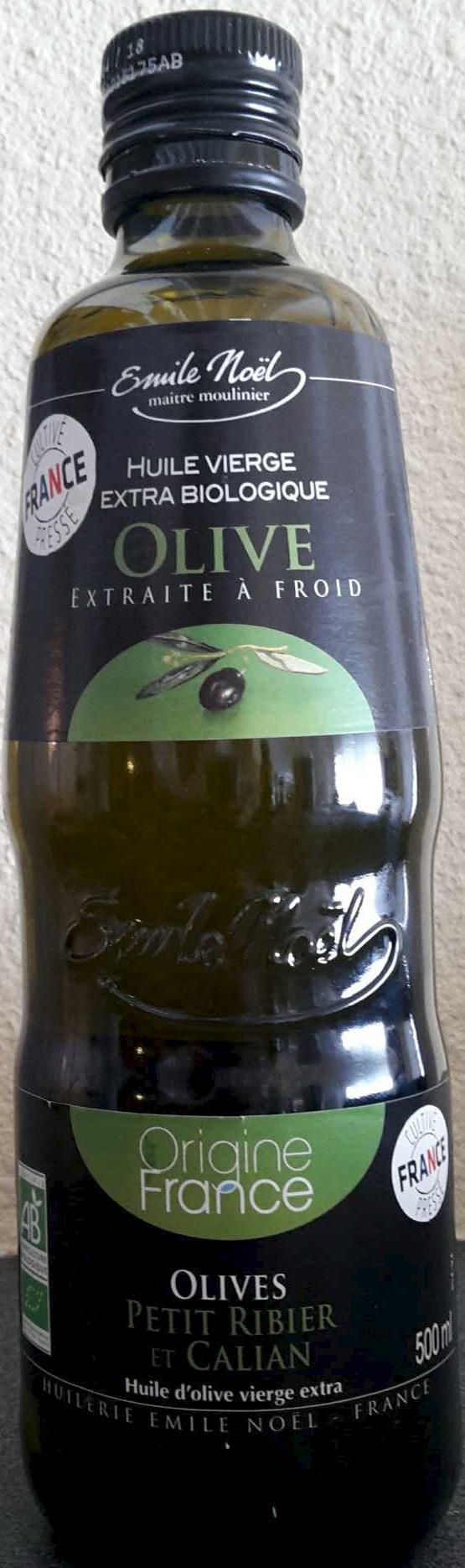 Huile vierge extra biologique olive - Produit - fr