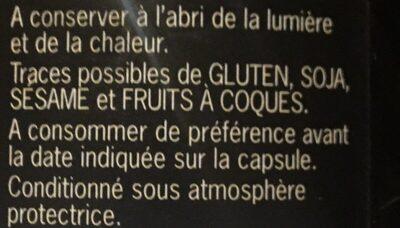 Huile vierge extra biologique olive - Ingrédients - fr