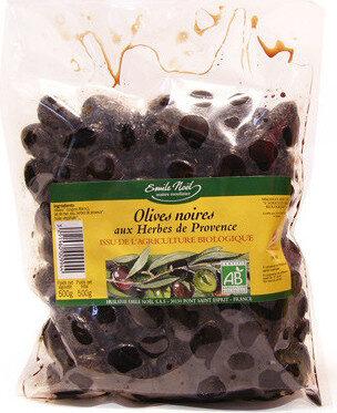 Olive Noires Herbes De Prov Sachet - Produit - fr