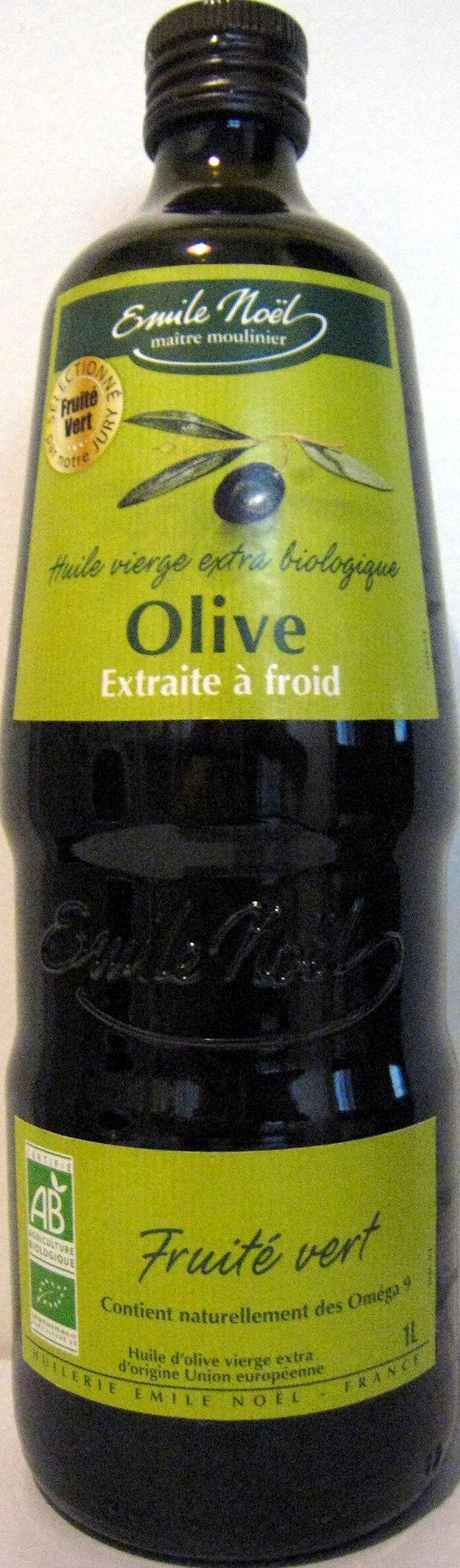 Huile vierge extra Olive extraite à froid - Produit - fr