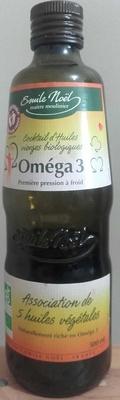 Cocktail d'huiles vierges biologiques Oméga3 - Produit - fr