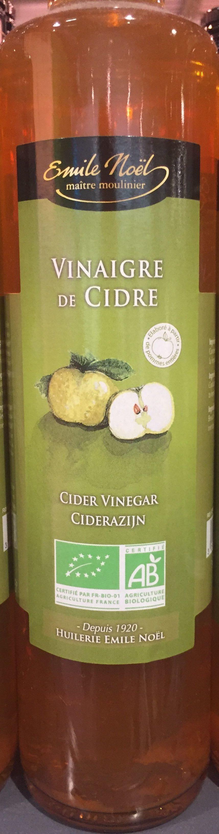 Vinaigre de cidre - Produit