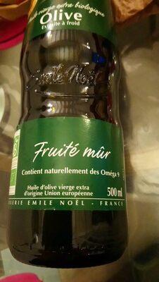 Huile D'olive Vierge Extra Fruitee Mure - Ingrédients