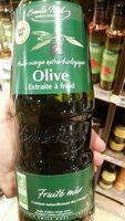 Huile olive vierge extra bio, extraite à froid, fruité mur - Produit - fr