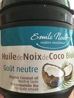 Huile de Noix de Coco Biologique Goût neutre - Product