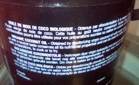 Huile de Noix de Coco Biologique Goût neutre - Ingrediënten