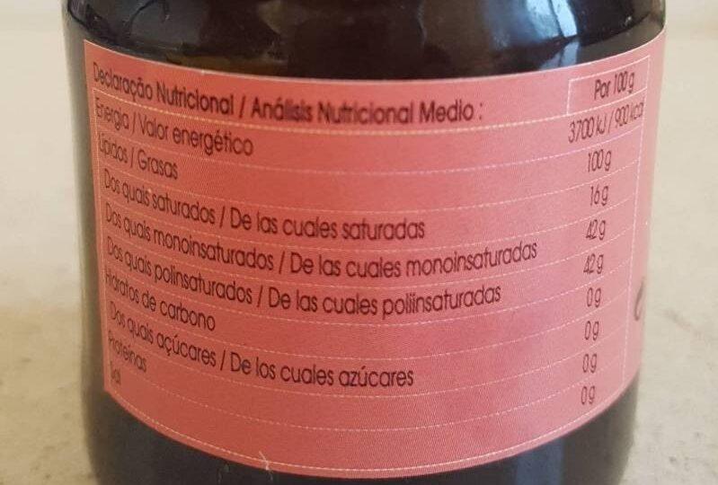 Sesamo tostado - Informació nutricional - es