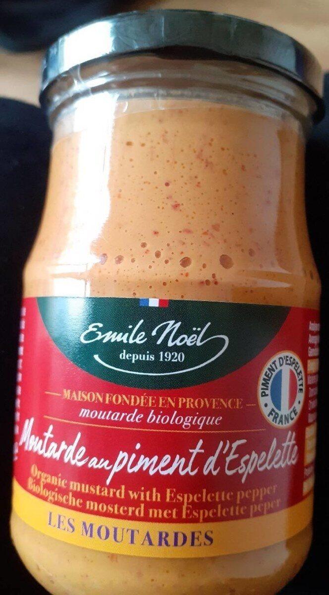 Moutarde au piment d'Espelette - Prodotto - fr