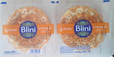4 Blinis Gourmands - Product