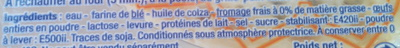 4 Blinis Gourmands - Ingredients