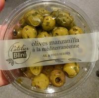 Olives manzanilla à la méditerranéenne - Product - fr