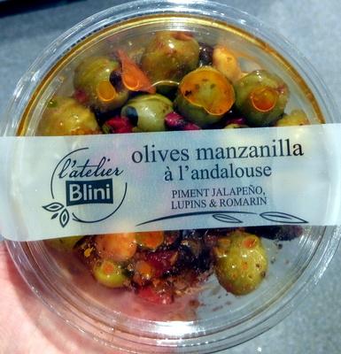 Olives manzanilla à l'andalouse - Product - fr