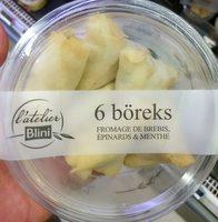 6 Boreks - Produit