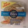 Blinis Gourmet - Produit