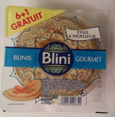Blinis Gourmet - Product - fr