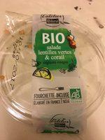 Salade lentilles vertes et corail - Product
