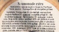 Saumonade Extra - Ingrédients - fr