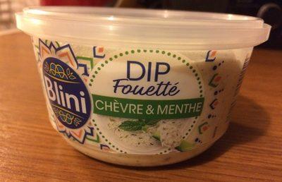 Dip fouetté chèvre menthe - Produit - fr